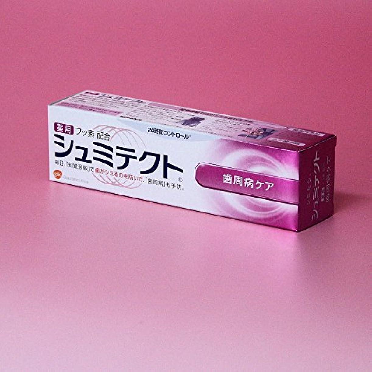 異常ピンク見習いアース製薬 シュミテクト 歯周病ケア 90g