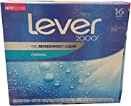 Lever 2000 Perfectly Fresh Bar Soap, 16count, 64 Oz, 2.16 Lb (4346090703)