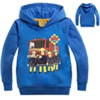 Color at Picture 2 11 2-12Y 2018 New Year Children Cartoon Fireman Sam Clothes Spring Outdoor Kids Outwear Long Sleeve Jumper Causal Jacekt Coat