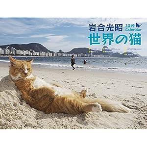 2019 岩合光昭 世界の猫カレンダー(壁掛け) ([カレンダー])