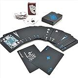 sac taske ブラック トランプ 黒い マジック カード 手品 ポーカー 大富豪 (ミニ トランプ セット)
