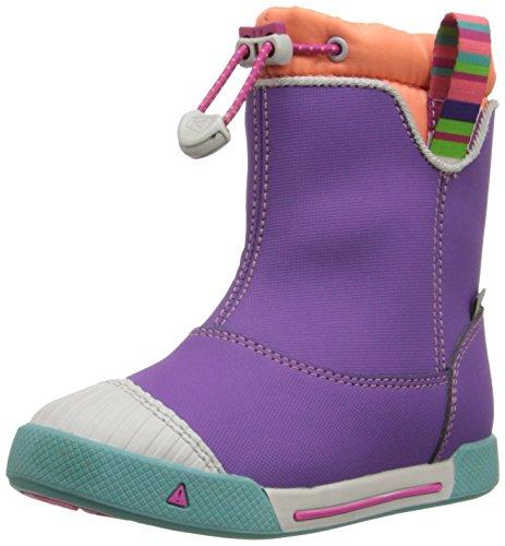[キーン] KEEN KIDS Encanto 365 Boot WP Encanto365Boot 1015472 (Purple Heart/Fusion Coral/18)