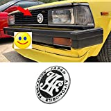 Auto front grill badges 自動車 JAF メタルフロントグリルバッジCarbon Weave Emblem Front Grille Badge