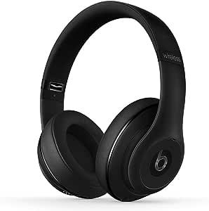 Beats by Dr.Dre ワイヤレスヘッドホン Studio Wireless Bluetooth対応 密閉型 オーバーイヤー ノイズキャンセリング マットブラック MHAJ2PA/A 【国内正規品/メーカー保証1年】