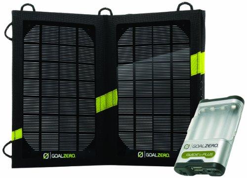 Goal Zero Guide 10 Plus Solar Kit 高出力ポータブルソーラー充電器