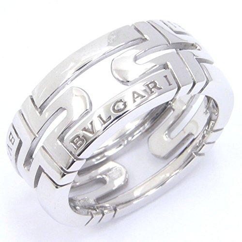 BVLGARI(ブルガリ) リング ニューパレンテシ WG ホワイトゴールド サイズ51 11号 中古 指輪 ロゴ入り BVLGARI [並行輸入品]