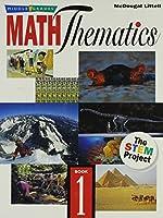Maththematics Book 1, Grade 6: Mcdougal Littell Maththematics (Middle Grades Maththematics)
