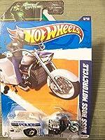 Hot Wheels 2011 HW Main Street Boss Hoss Motorcycle 8/10 on Green Lantern Card [並行輸入品]