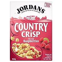Jordans Country Crisp Raspberry Crunchy Clusters (500g) ジョーダンの国さわやかなラズベリーカリカリクラスター( 500グラム)