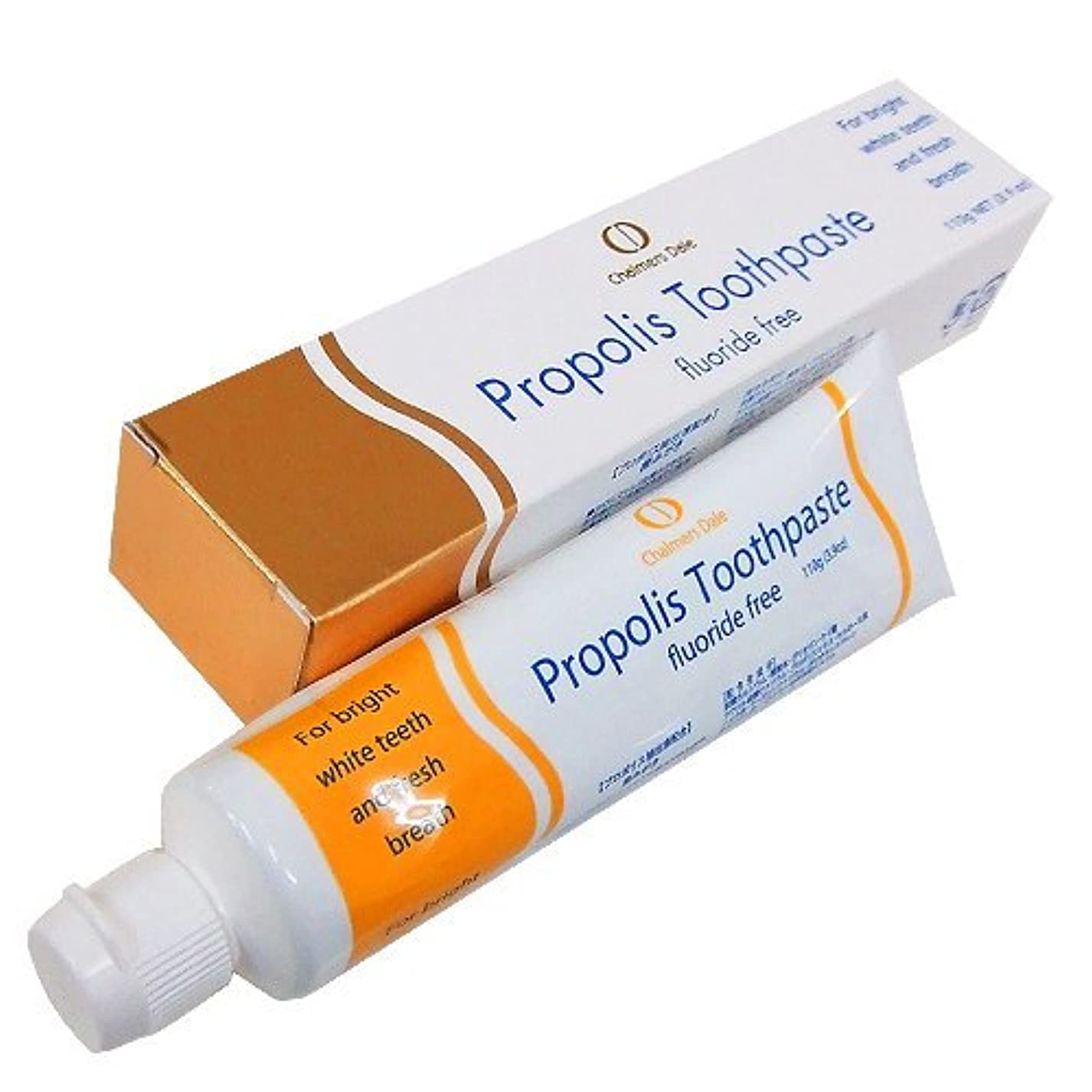 ビンわかる血まみれプロポリス歯磨き 110g フッ素は配合していません