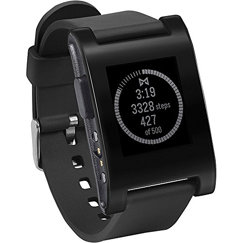 Pebble E-Paper Watch for iPhone and Android 【Kickstarterエディション】 (ブラック)並行輸入品