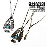 (ゼファレン)ZEPHYREN METAL NECKLACE -HAWK- A.GOLD FREE