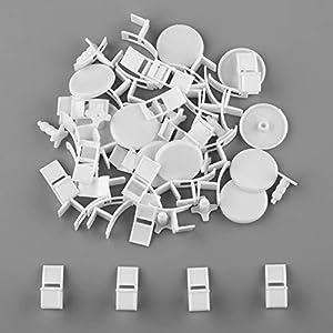 模型・丸いテーブル・椅子セット 1/50用 5点 / セット 10セット入 未塗装 白模型 DIY・建築模型・情景コレクション・鉄道模型・ジオラマ・教育・写真に 50点