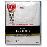 【BVD】 ゴールド(GOLD) 丸首半袖Tシャツ 3枚セット G013