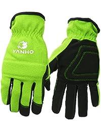 サイクリング グローブ 手袋 フルフィンガー式 冬グローブ スポーツ手袋 ナイロン 防風 防寒 滑り止め 蛍光グリーン