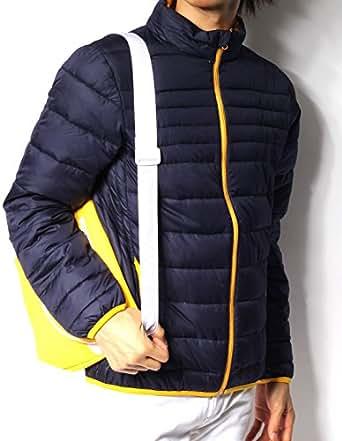 (リピード) REPIDO ダウンジャケット 中綿ジャケット メンズ ジャケット ブルゾン ダウン 中綿 防寒 ライトダウン 軽い 秋 秋冬 冬 ネイビー XL