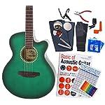 アコースティックギター 初心者 ハイグレード 16点 セット ARIA TG-1 カッタウェイタイプ アウトレット SGR [98765]