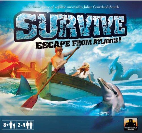 Survive Escape from Atlantis Board Game