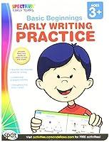 Spectrum 704167 Basic Beginnings-Early Writing Practice [並行輸入品]