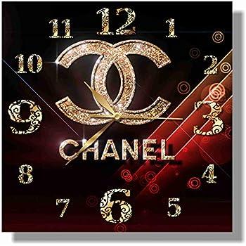 c1f3319d8c07 COCO CHANEL 11'' 壁時計 ココ・シャネル あなたの友人のための最高の贈り物。あなたの家のためのオリジナルデザイン。