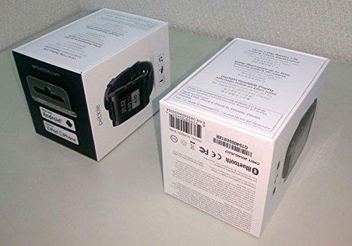 Pebble Smartwatch Black【iPhone & Android対応 スマートウォッチ】並行輸入品