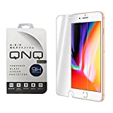 iPhone 8 Plus ガラスフィルム 液晶保護フィルム 5.5インチ フィルム 強化ガラス 3D Touch対応 硬度9H QNQ