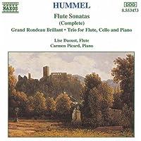 フンメル:フルートソナタ/フルート三重奏曲/華麗なる序奏とロンド