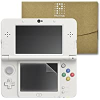 New 3DS 専用 フィルム 下画面 保護フィルム 上画面 ガラスフィルム New3DS 液晶保護フィルム PROTAGE