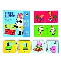 ACHICOO パズルおもちゃ 知育 コグニティブカード 図形 学習玩具 幼児 子供 比較