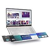 "ASUS UX534FTC-AS77 ZenBook 15 Laptop, 15.6"" UHD 4K NanoEdge Display, Intel Core i7-10510U, GeForce GTX 1650, 16GB, 512GB PCIe SSD, ScreenPad 2.0, Amazon Alexa Compatible, Windows 10, Icicle Silver"