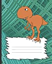 School Composition Notebook: City Stomping T Rex Blank Journal for Kids: Awesome (COOL COVERS: Dinosaur school supplies)