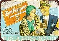1922ドクター・ペッパーヴィンテージルックリプロダクションメタルティンサイン
