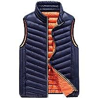 Surprise S Duck Down Vest Men Ultra Light Cotton Padded Vest Slim Thicken Waistcoat Vest Sleeveless Jacket 3XL