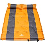 Self Inflating Mattress Sleeping Mats Air Bed Camping Hiking Joinable w/Pillow