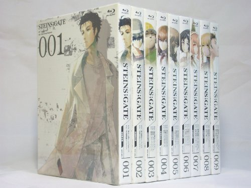 STEINS;GATE 【初回限定版】 全9巻セット [マーケットプレイス Blu-rayセット]