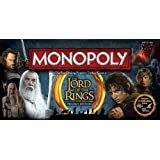 The Lord of the Rings Trilogy Edition Monopoly【直輸入品】