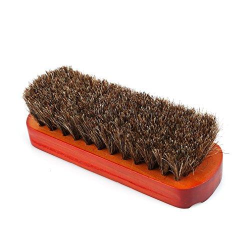 [해외]PINKING 구두솔 말 머리 브러쉬 우디 구두닦이 가죽 손질 신발 브러시/PINKING shoe brush horse hair brush woody shoe polish leather care shoe brush
