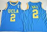 2017UCLA Bruins Lonzoボール2カレッジバスケットボールメンズジャージーブルー US サイズ: 3L カラー: ブルー