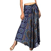 Joop Joop 2 in 1 Maxi Skirt and Dress Bohemian Loose Flowing Boho Summer Travel Beach Festival Lounge Casual Skirt