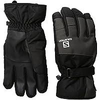 SALOMON(サロモン) スキーグローブ フォースゴアテックス® (FORCE GORE-TEX®) メンズ L38310900 ブラック/ガレットグレー M