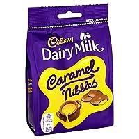 キャドバリーキャラメルニブルの120グラム (x 4) - Cadbury Caramel Nibbles 120g (Pack of 4) [並行輸入品]
