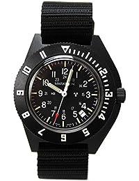 [マラソン] MARATHON Navigator Date Sterile Pilot マラソン ナビゲーター デイト ステライル パイロット クォーツ ブラック [正規輸入品][腕時計][クロノワールド chronoworld]