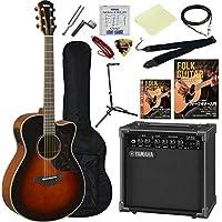 アコースティックギター エレアコ 入門13点セット ヤマハ Aシリーズ AC1M ヤマハアンプ GA15II サウンドホールカバー付属 (TBS)