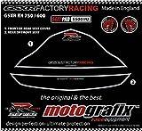 MOTOGRAFIX(モトグラフィックス) ボディパッド GSX-R600/750 K4/K5(04/05 FRONT SEAT/REAR SEAT ブラック MT-SS001U