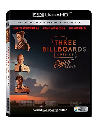 スリー・ビルボード [4K UHD + Blu-ray UHDのみ日本語有り リージョンフリー](Import版) -Three Billboards Outside Ebbing, Missouri-