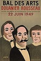Bal des Arts–Douanier Rousseauヴィンテージポスター(アーティストPaul Colin )フランスC。1949 36 x 54 Giclee Print LANT-63960-36x54