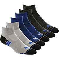 Puma Socks - United Legwear Men's Quarter Cut Socks