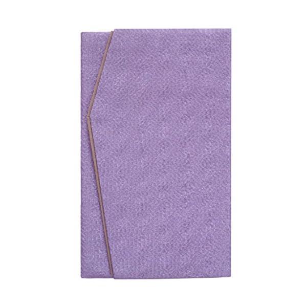 日本製 高級 二重 ちりめん 金封 ふくさ 浅紫...の商品画像