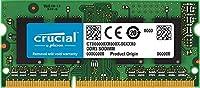 Crucial DDR3L 1600 MT/s (PC3-12800) 8GB CL11 SODIMM 204pin 1.35V/1.5V ノート用メモリー CT102464BF160B [並行輸入品]