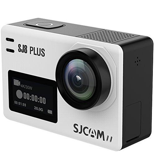SJCAM 2018年新発表 SJ8 Plus スポーツカメラ Sony CMOS 4K 30fps Ultra/Full HD 日本語マニュアル同梱 170°超広角レンズ 720×480液晶解像度 タッチスクリーン Android iPhone APPコントロール アクションカメラ「Small Box版」